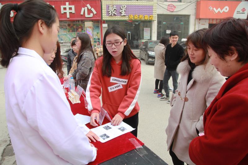 郑州科技学院食品科学与工程学院开展社区居民服务活动