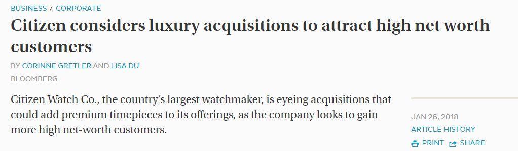 又一知名日企被曝造假 看看你手表是不是这个品牌