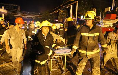 义马气化厂爆炸后48小时,这些画面温暖人心!