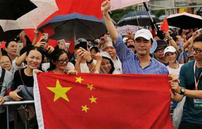守护香港,他们站了出来!
