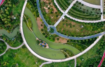 在航空港区有个超大的公园你来过吗?