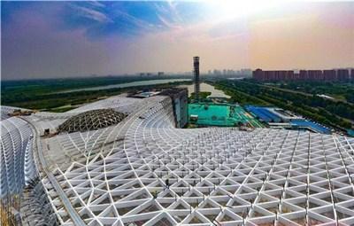 郑东新地标雏形已现 省科技馆新馆主体工程完工