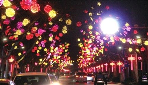 """这个春节郑州夜景等你""""打卡"""""""