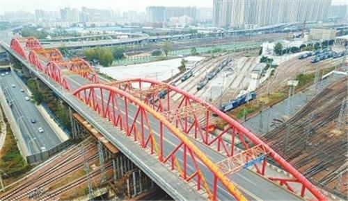 施工单位正在公示 郑州彩虹桥拆建工程有望本月启动