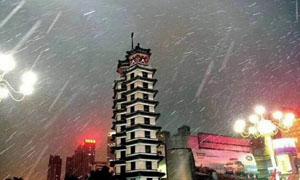 暴风雪来临!河南2018年初雪到货
