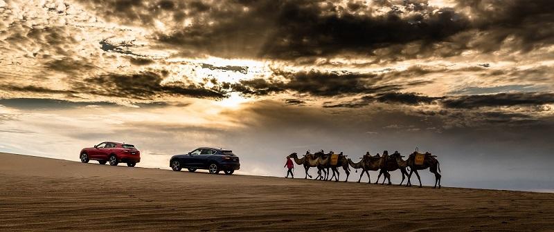 玛莎拉蒂车队于丝绸之路的漫漫黄沙.jpg