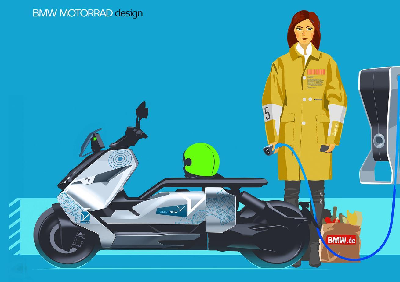 0BMW Motorrad Definition CE 04概念车7.jpg