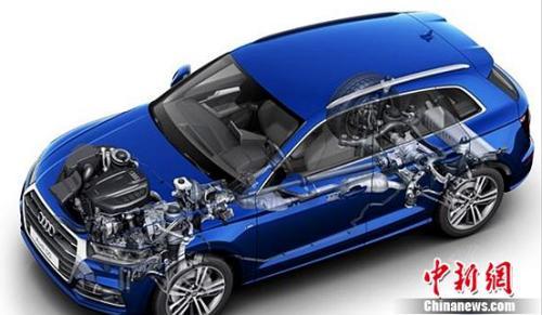 全新奥迪Q5L采用全新智能四驱系统 quattro ultra 取代带托森差速器的 quattro 全时四驱系统