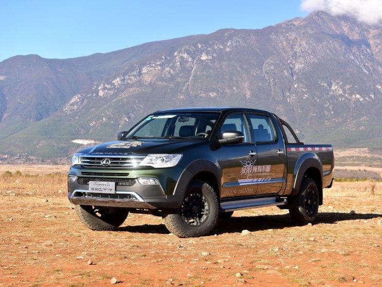 猎豹汽车 猎豹CT7 2017款 2.4L汽油两驱卓越型大双版2TZ