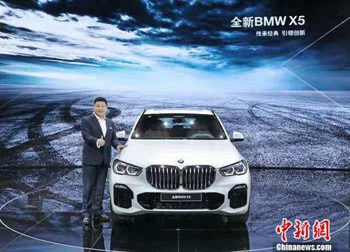 宝马(中国)汽车贸易有限公司总裁刘智博士在新闻发布会上