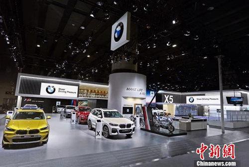 2018广州车展BMW展台