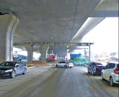 京廣路一層為何停工3年不修通