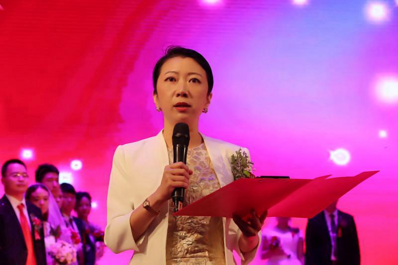 黄河科技学院举行第十九届集体婚礼