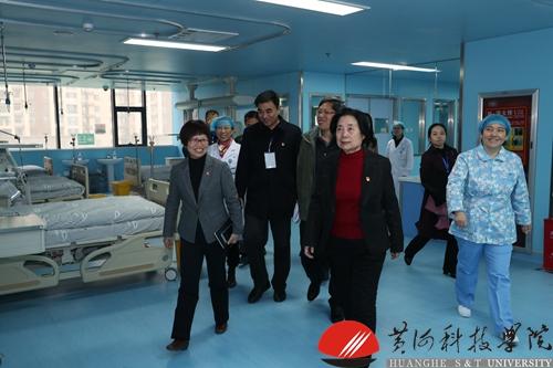黄河科技学院附属医院顺利通过省级三级综合医院执业登记评审