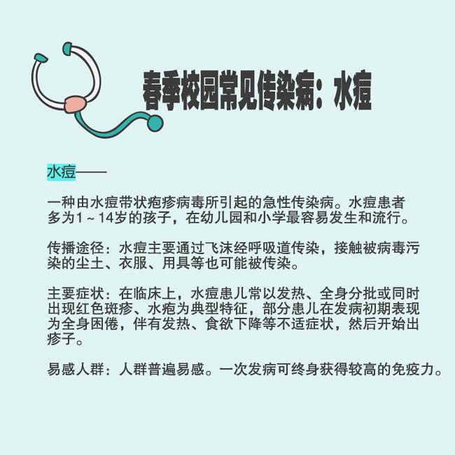 @家长:开学季警惕春季传染病