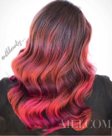 朴信惠示范最新发色潮流 除了珊瑚橘还有这五款发色