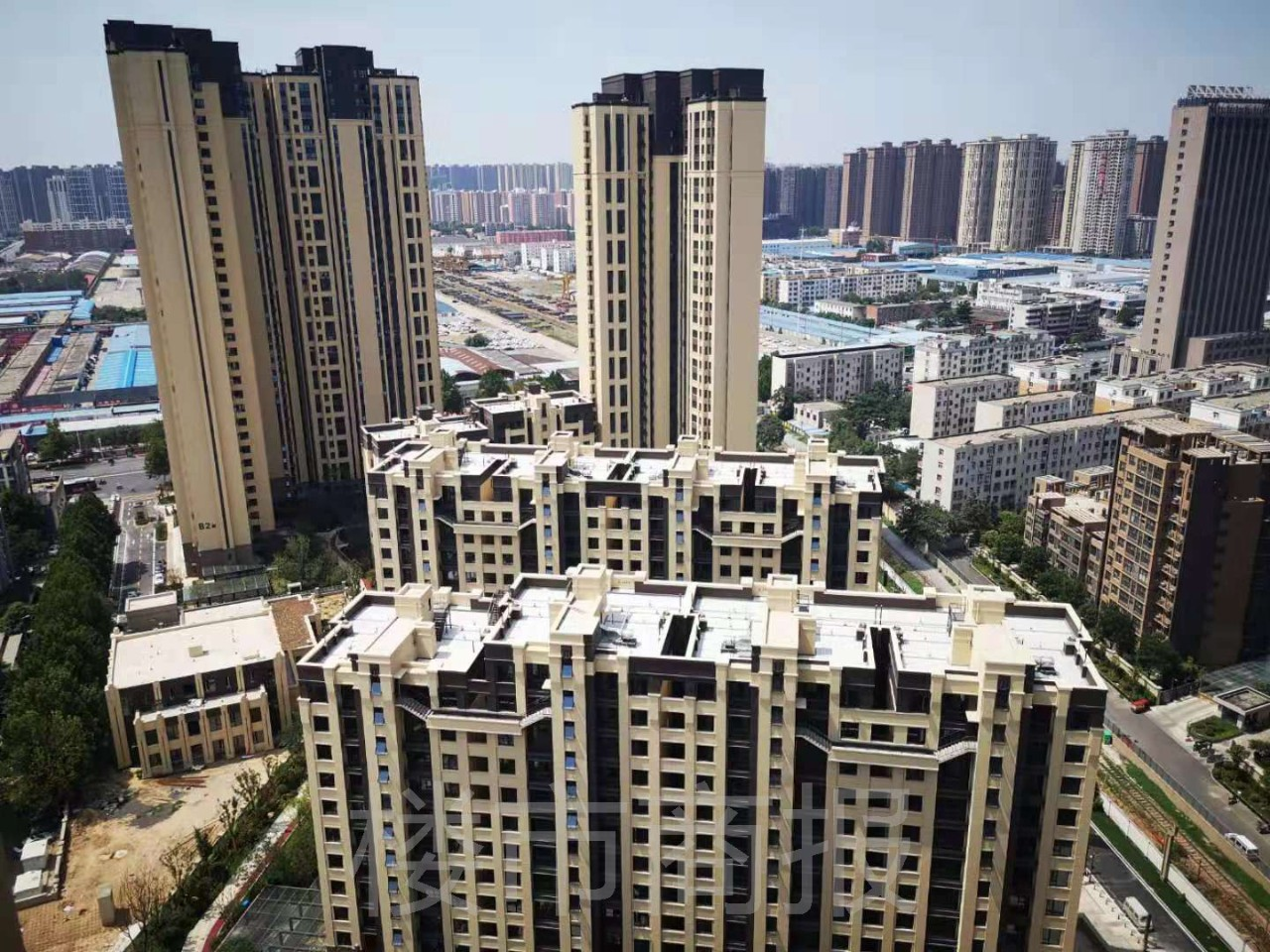金地郑州首个项目交付 图片
