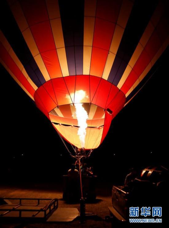 (国际)(1)首届卡帕多基亚国际热气球节开幕