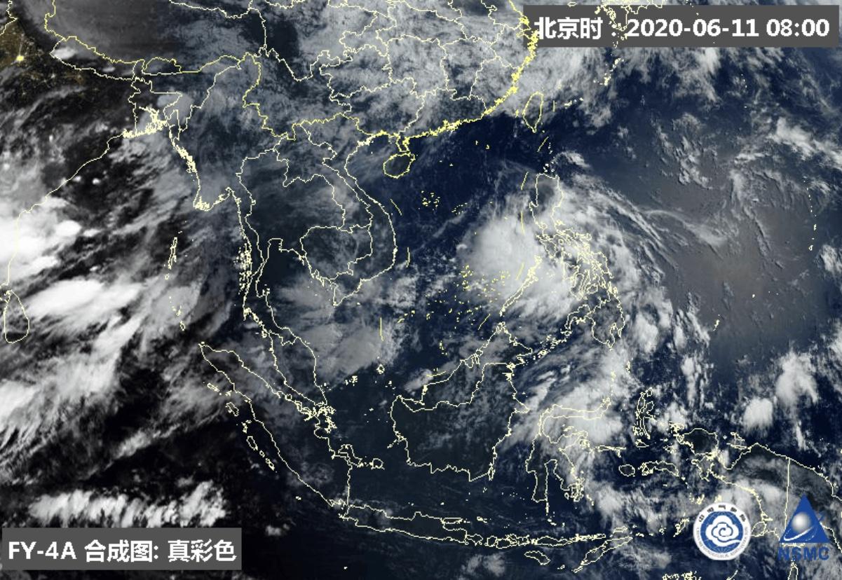台风路径实时发布系统:今年第2号台风将生成 14日前后影响华南沿海地区