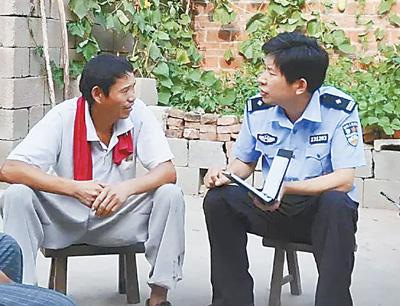 从一名武警战士转为人民警察,唐明清——群众有难事 主