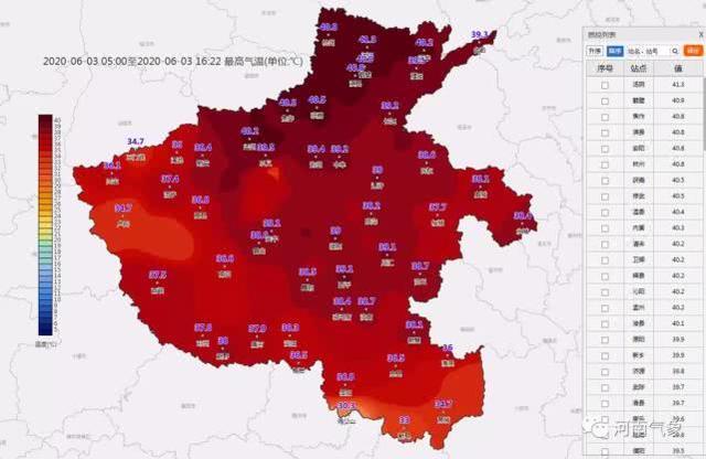 """河南发布高温预警,""""烧""""上6天,好在下场雨时间定了"""