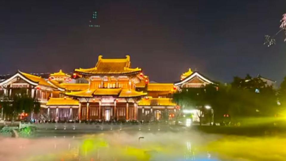 """【母亲河畔的中国】穿越千年,打卡唐""""潮""""夜市"""