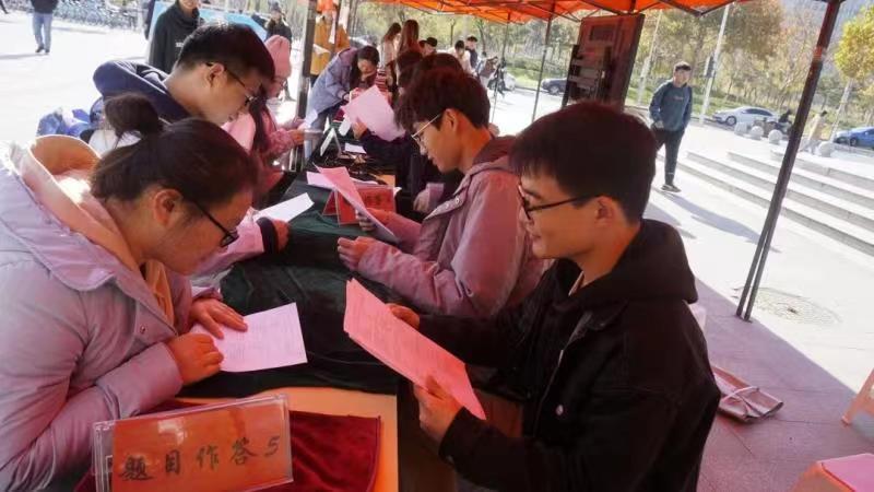 """讲好宪法故事 维护宪法权威 河南工业大学""""宪""""在行动!"""