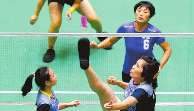 第十一届全国少数民族传统体育运动会 ◥毽球◣ 小小毽