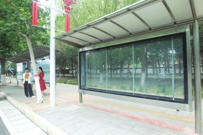 """惠济区公交站台广告一夜""""消失""""?郑州市公交总公司:直接损失70多万元"""
