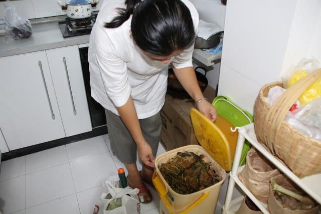 """哇!家里养蚯蚓、厨房里堆肥料……郑州一女子过上""""零废弃""""生活"""