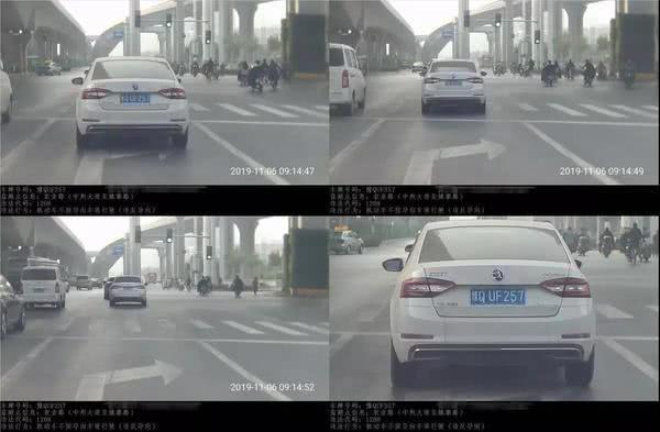 """罚钱扣分!郑州车主注意:有人正在""""偷偷""""抓拍这种行为"""