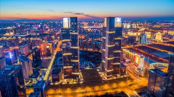美到犯规!灯火辉煌的郑州回来了,还是那样壮观
