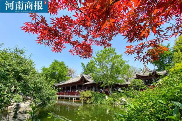 郑州紫荆山公园梦溪园