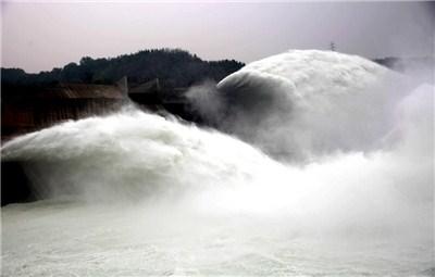 济源黄河小浪底开启洪水调度运用模式