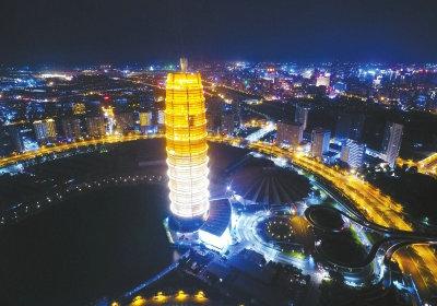 郑州的夜太美了