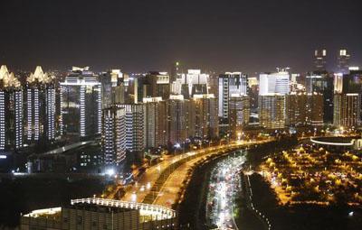 这组郑东新区的夜景图谁看谁惊艳!