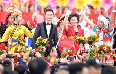 刚刚,郑州炎黄广场这场大联欢嗨翻天!