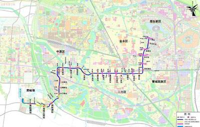 郑州地铁6号线一期东北段正式开建!