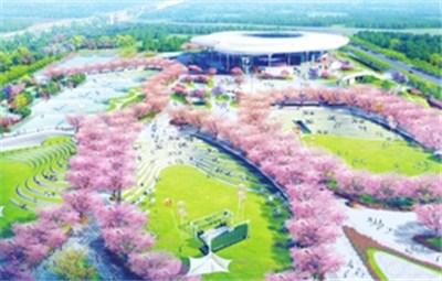 月底,我们一起见证中原网球中心二期项目竣工