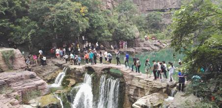 云台山国庆节、中秋节假期游客接待公告发布