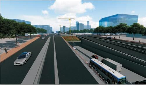 郑州二七广场隧道项目正式开工!