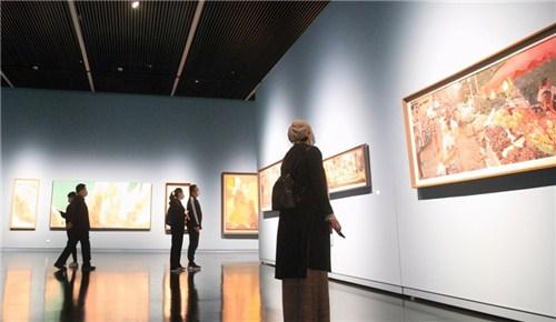 郑州美术馆新馆正式免费开馆 展览活动持续到明年2月底