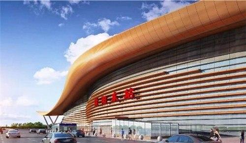 最新消息!郑济高铁又有3座站房主体结构封顶