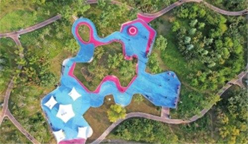 郑州市青少年公园北区开园迎客